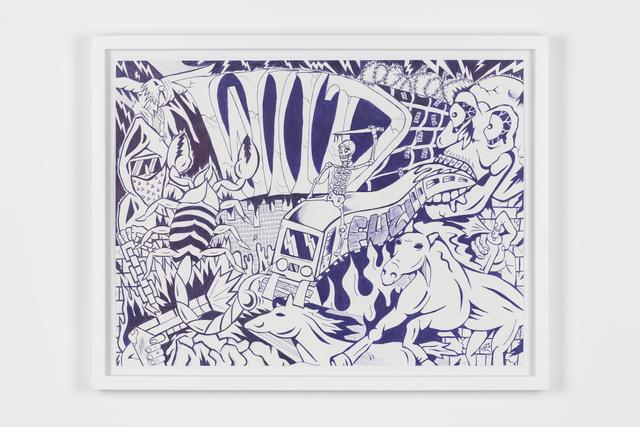 Fuzi, 'ULTRA VIOLENT', 2018, Underdogs Gallery