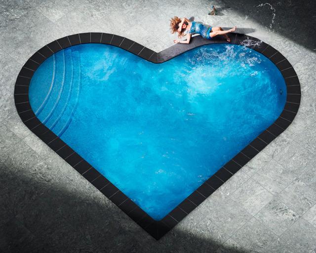 David Drebin, 'Splashing Heart', Art Angels