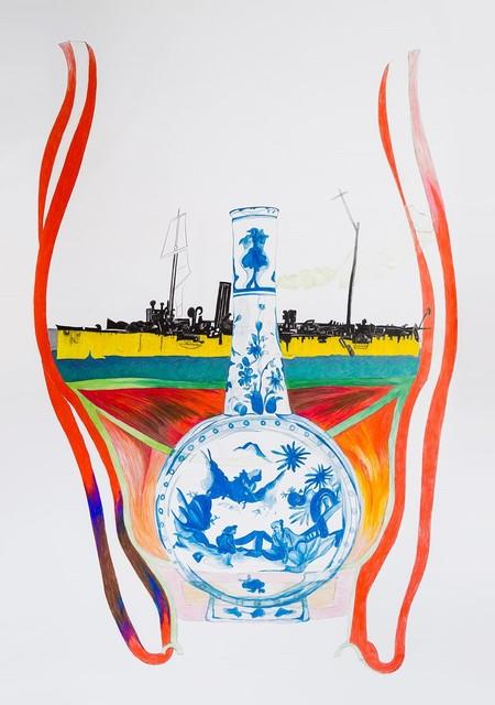 , 'Offene Form 72,' 2018, Smolka Contemporary