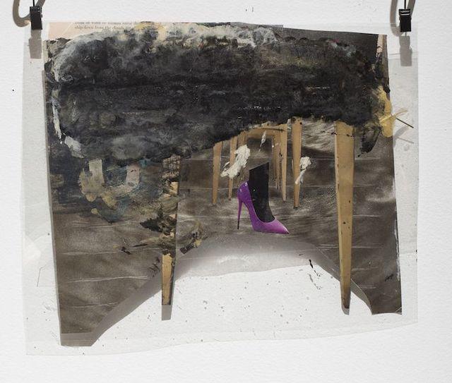 , 'When Eye (I) Walk in Purple on Your Landscape,' 2015, OTTO ZOO