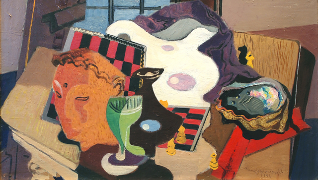 , 'Still Life with Abalone,' 1946, Peyton Wright Gallery