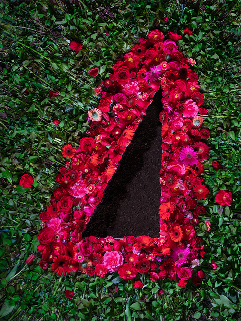 , 'Flowers and Dirt (Red),' 2018, Winston Wächter Fine Art