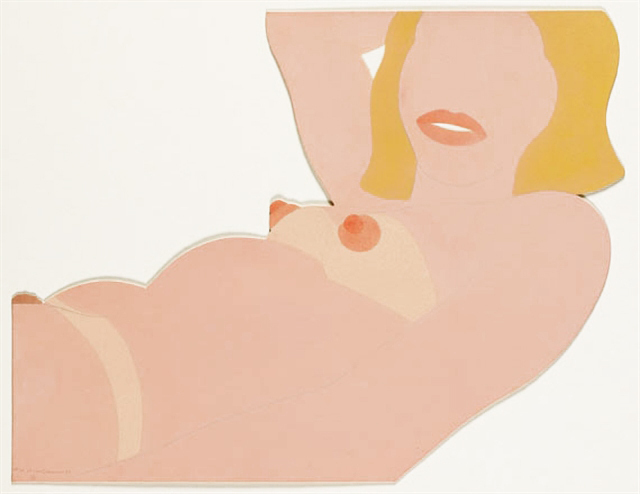, 'Great American Nude cut out,' 1970, Galerie Thomas