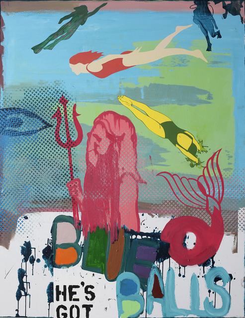 , 'He's got blue balls,' 2008, The Flat - Massimo Carasi
