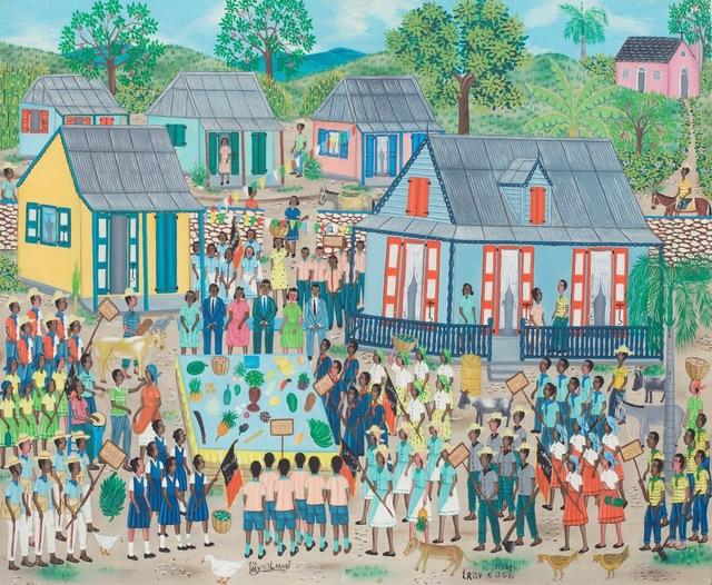 , 'Vivre trav d'agri    ,' circa 1970's, ZQ Art Gallery