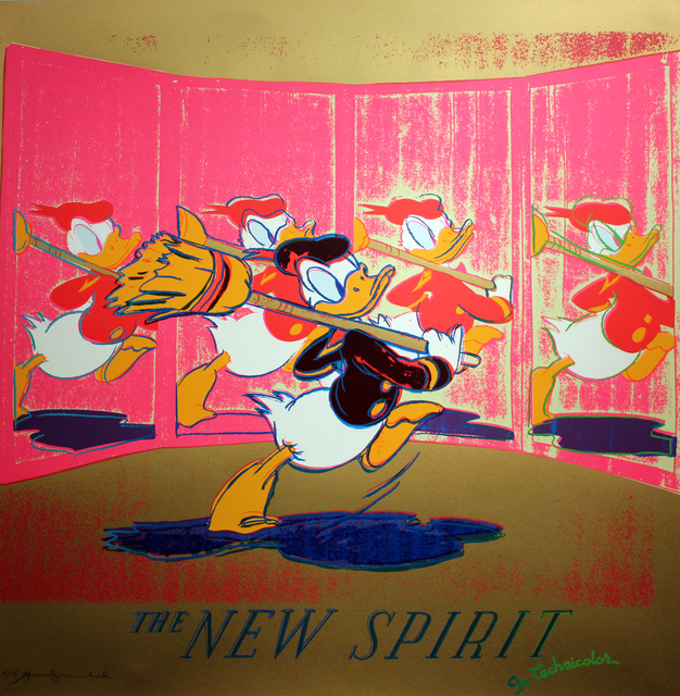 , 'New Spirit (Donald Duck) F&S. II.357,' 1985, Gormleys Fine Art