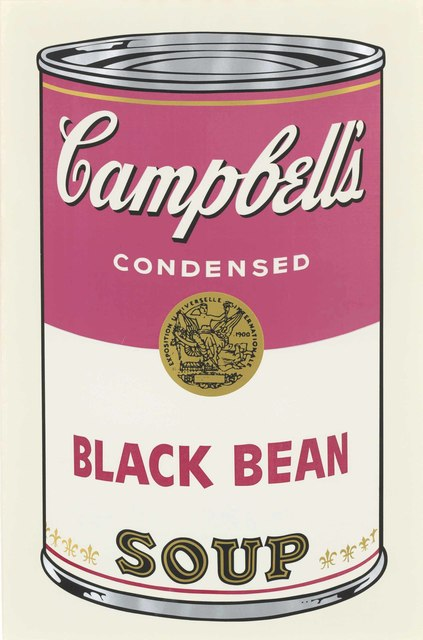 Andy Warhol, 'Black Bean, from: Campbell's Soup I', 1968, Christie's