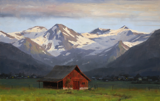 , 'Morning Light Crested Butte,' 2015, Abend Gallery