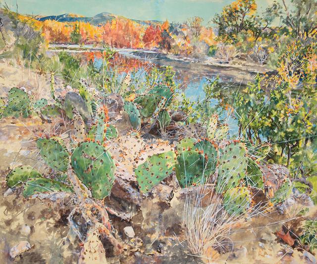 , 'Water/Fall,' 2018, Valley House Gallery & Sculpture Garden