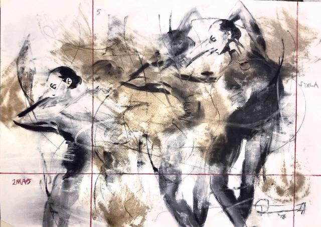 , 'Technical Movement Sketch 27,' 2019, ARTsouthAFRICA