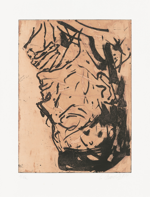 Georg Baselitz, 'Elke VIII', 2017, Galerie Boisseree