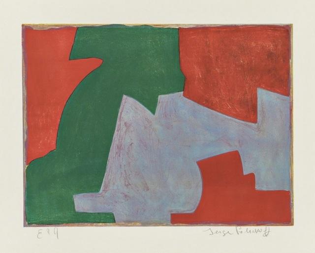 Serge Poliakoff, 'Composition verte, bleue et rouge ', 1965, Galerie F. Hessler