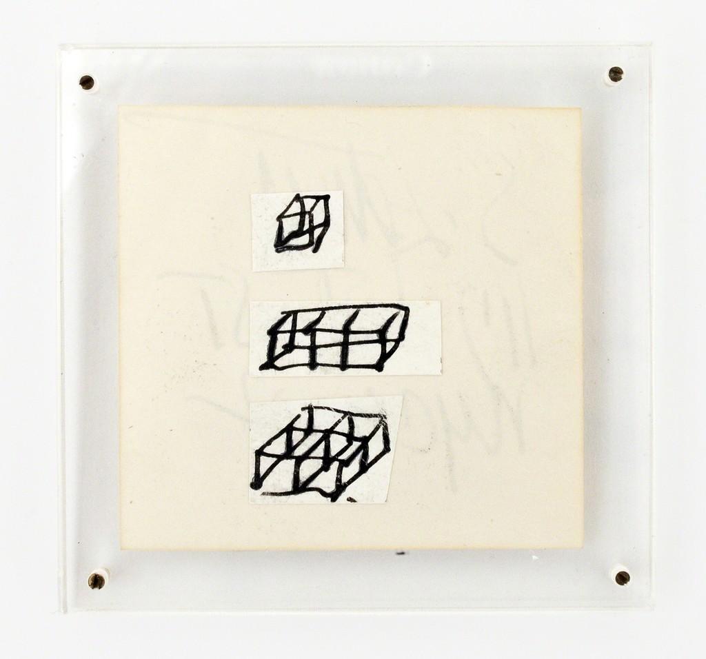 Sol LeWitt, 'Untitled,' 1969, Miniature Museum Ria and Lex Daniels