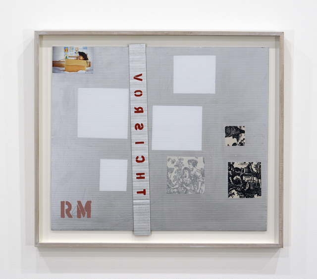 , 'TOM THOMSON 5 ( COMPOSITION WITH 8 RED RECTANGLES, 1964),' 2016, TrépanierBaer Gallery