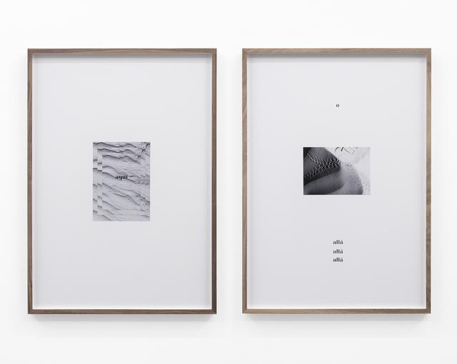 Adrien Missika, 'Camino por desierto (Aquí, o allá o allá)', 2018, PROYECTOS MONCLOVA