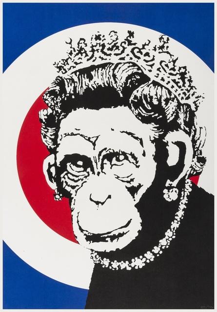 Banksy, 'Monkey Queen', 2004, Forum Auctions