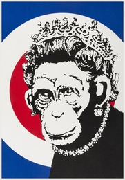 Banksy, 'Monkey Queen,' 2004, Forum Auctions: Editions and Works on Paper (March 2017)