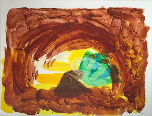Howard Hodgkin, 'Vegetable', 2014, Jonathan Novak Contemporary Art