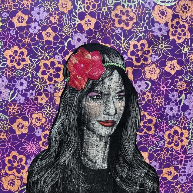 , 'Girl with Flower - II,' 2013, Merkur
