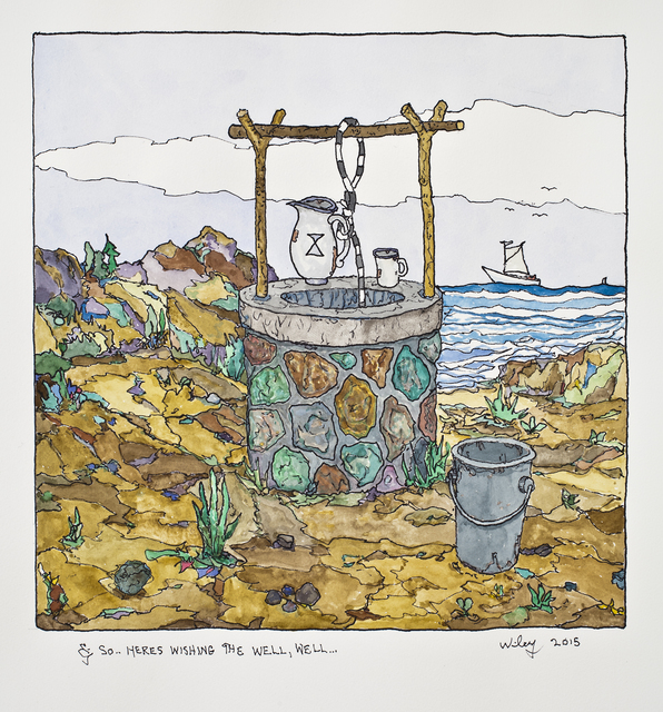 , 'Wishing the Well, Well,' 2015, Hosfelt Gallery