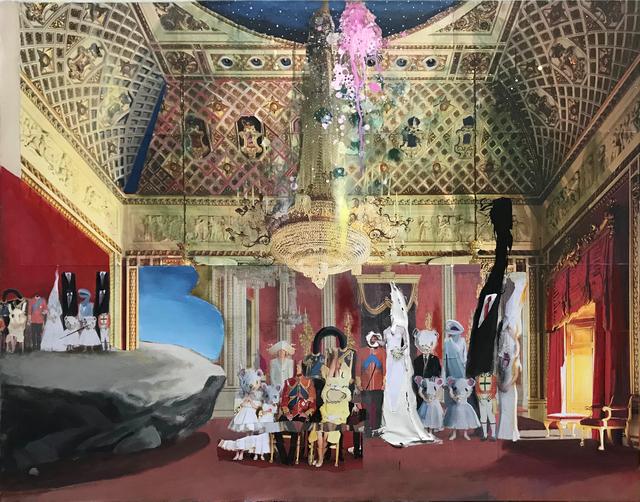 Ramin Haerizadeh, Rokni Haerizadeh & Hesam Rahmanian, 'Madame Tussauds', 2017, In Situ - Fabienne Leclerc