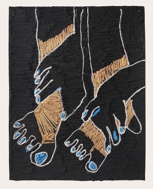 , 'Leg Warmers,' 2017, Shulamit Nazarian