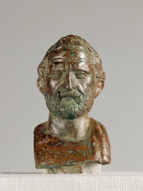 'Portrait Bust of Demosthenes', 100 -1 BCE, J. Paul Getty Museum