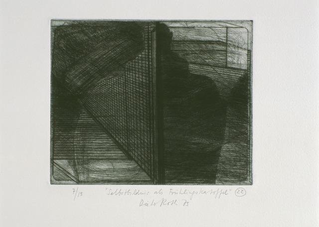 , 'Isländische Landschaft I (Icelandic Landscape I),' 1970, Diane Villani Editions