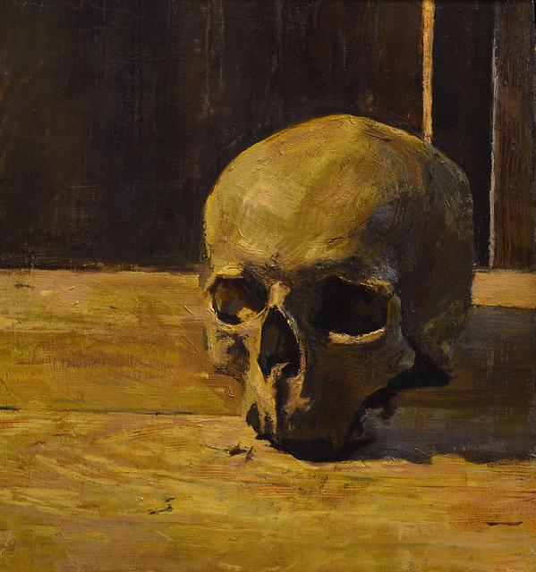 """, '""""Skull"""",' 2018, Maxwell Alexander Gallery"""