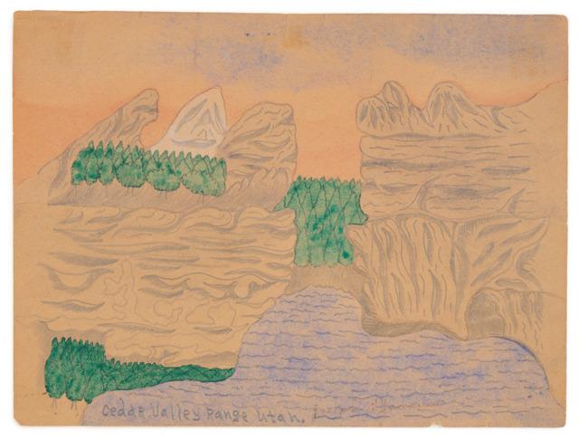 , 'Cedar Valley Range, Utah,' ca. 1966, Fleisher/Ollman