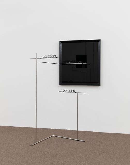 Waltercio Caldas, 'too soon', 2013, Galeria Raquel Arnaud
