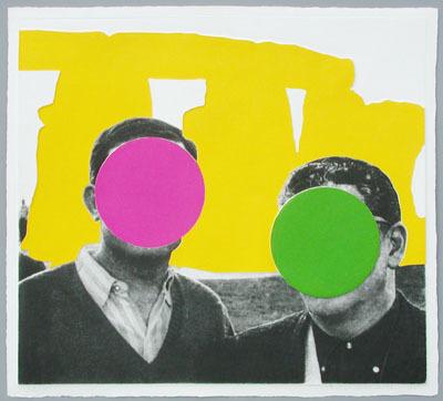 , 'Stonegenge Yellow,' 2005, Galerie Bhak