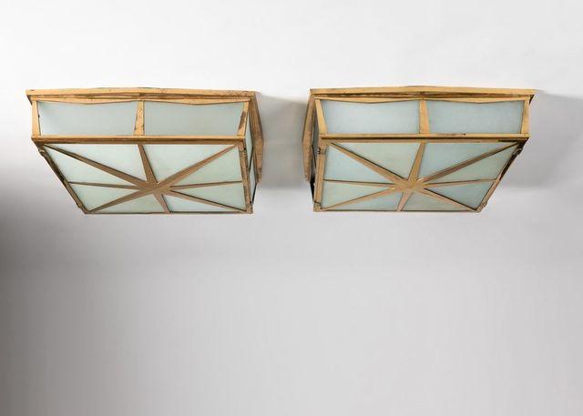 , 'Pair of Ceiling Lights,' ca. United States-circa 1929, Maison Gerard