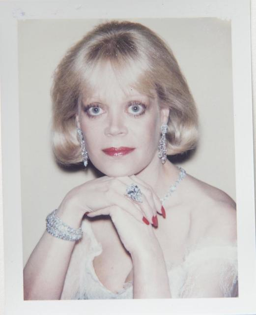 Andy Warhol, 'Andy Warhol, Polaroid Photograph of Candy Spelling, 1985', 1985, Photography, Polaroid, Hedges Projects