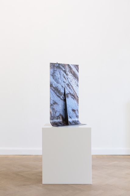 , 'Weeping Rock Rolled Steel,' 2019, GRIMM