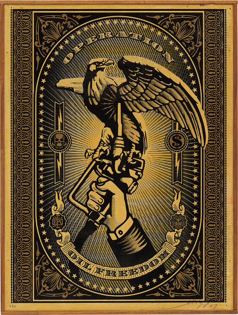 Shepard Fairey (OBEY), 'Operation Oil Freedom', 2007, Phillips