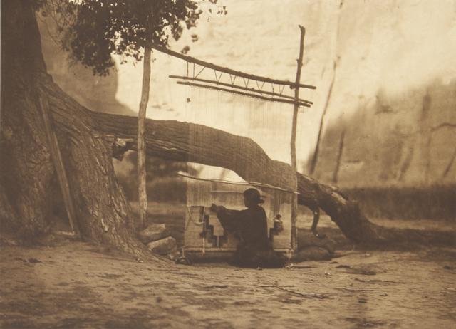 , 'The Blanket Weaver - Navanho,' 1907-1930, Empty Gallery