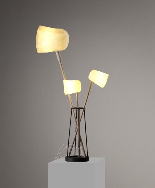 """, '""""Les Perchées"""" lamp,' 2015, Galerie Gosserez"""