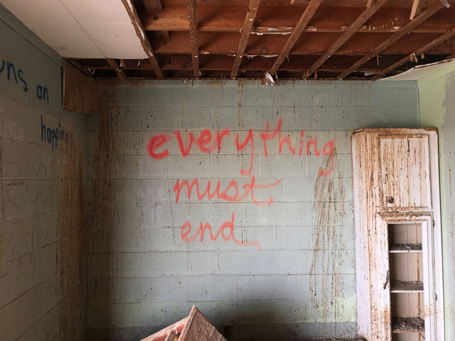 ", '""Everything must end,"" Salton Sea Beach, California,' 2017, Fraenkel Gallery"
