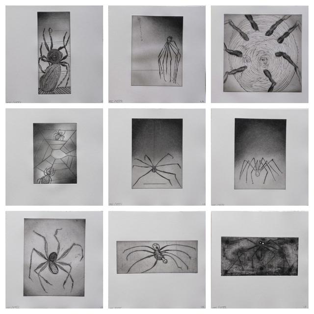 Louise Bourgeois, 'Ode A Ma Mere - portfolio (9)', 1995, Kunzt Gallery