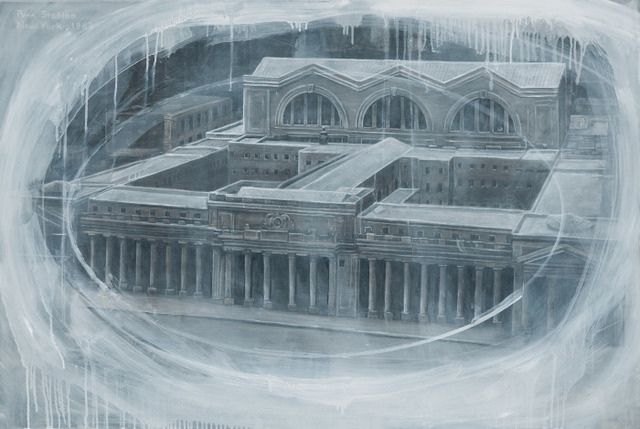 , 'Ghost of Penn Station,' 2017, DANESE/COREY