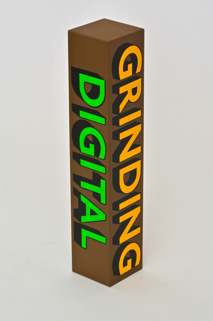 , 'GRINDING, DIGITAL, EMBRACE, MACHINE,' 2018, Hang-Up Gallery