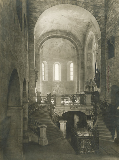 Jaromír Funke, 'Basilica of Saint George at Prague Castle, Interior', 1930s/1930s, Photography, Silver print unmounted, Contemporary Works/Vintage Works