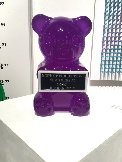 , 'Vandal Gummy Bear,' 2016, Oliver Cole Gallery