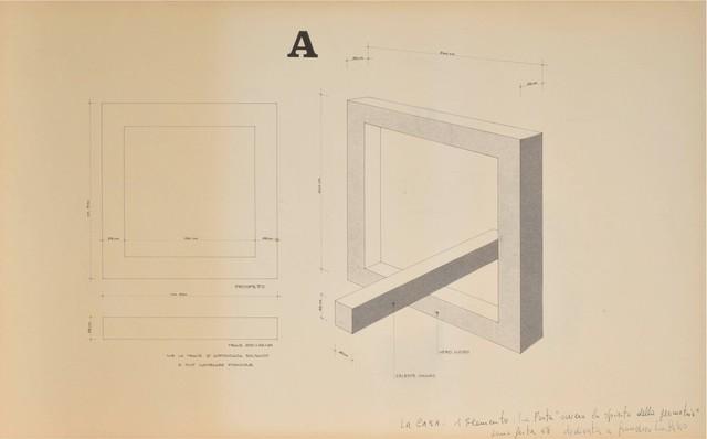 Tano Festa, 'Projects', 1968, Finarte