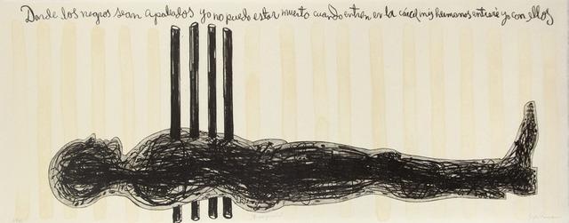 , 'Crucifixion,' 1995, Tamarind Institute