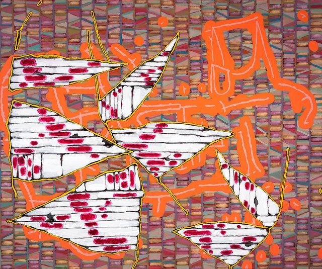 , 'Untitled (for J.A.H./K.S.P./A.A.R.),' 2016, David Lusk Gallery