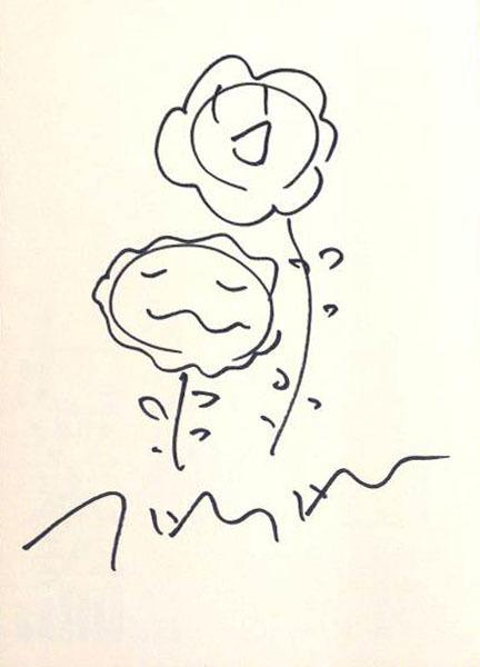 Takashi Murakami, 'Flower Drawing', ca. 2001, EHC Fine Art