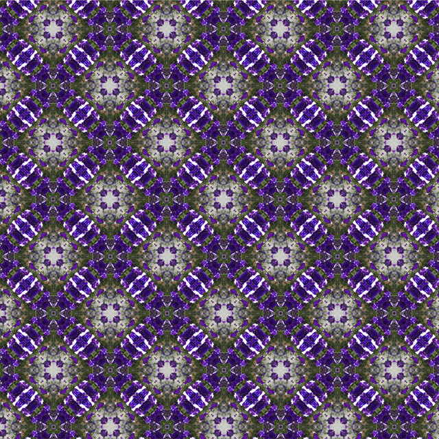 Adele Venter, 'Purple Flower', 2018, Photography, Infinite Pattern created with photograph of flowers | Illford Gloss, Recreational Enterprises & Perseus Gallery