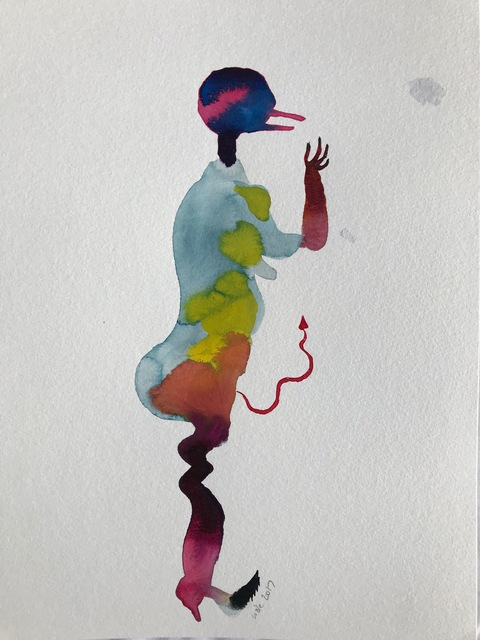 Wole Lagunju, 'Figural', 2017, Ed Cross Fine Art